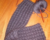 Cable Galore Scarf Pattern - PDF Delivery