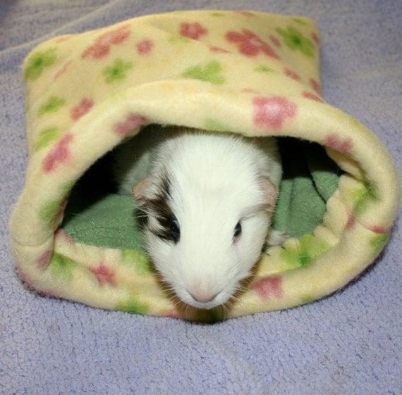 Piggy pouch fleece guinea pig ferret bed bag for How to make a guinea pig bed