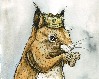 Red Squirrel King