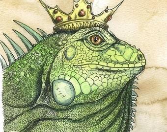 Iggy King (an original hand painted king)