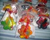 40 Mini Rainbow Crayon Party Favors Pack-Mini Size Rainbow Crayons