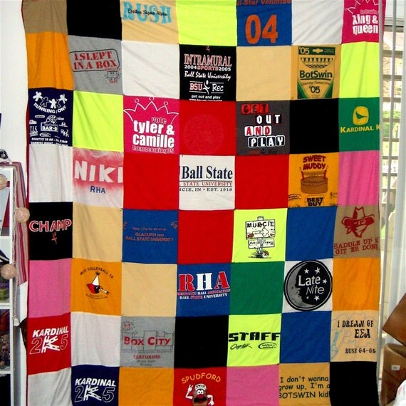 T-Shirt Memory Blanket-Twin Size