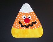 Fabric Applique TEMPLATE ONLY Funny Face Candy Corn
