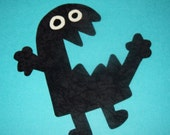 Fabric Applique TEMPLATE Pattern Only OOOGLY WOOOGLY Guy Monster....New