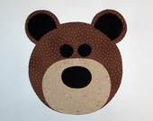 Fabric Applique TEMPLATE Pattern ONLY Teddy Bear....NEW