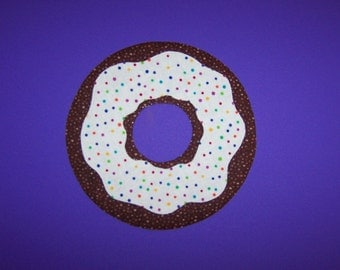 Fabric Applique TEMPLATE ONLY Bakery Donut