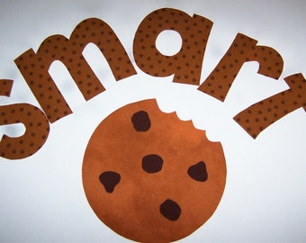 Fabric Applique TEMPLATE ONLY Smart Cookie