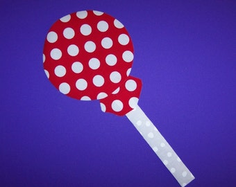 Fabric Applique TEMPLATE ONLY Lollipop