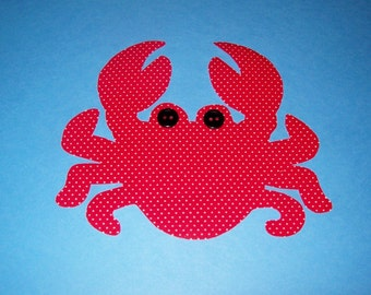 Fabric Applique TEMPLATE Pattern ONLY Fiddler Crab