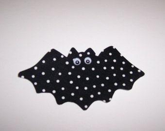Fabric Applique TEMPLATE ONLY Halloween Bat