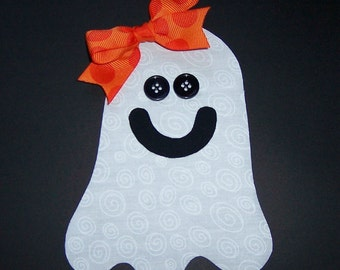 Fabric Applique PDF TEMPLATE Pattern ONLY Friendly Ghost