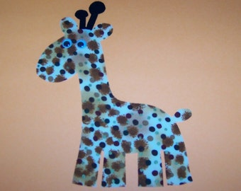 Fabric Applique TEMPLATE ONLY Giraffe