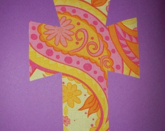 Fabric Applique TEMPLATE ONLY Cross