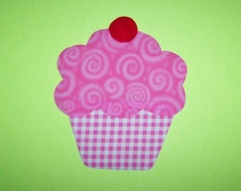 Applique TEMPLATE Pattern ONLY Cupcake