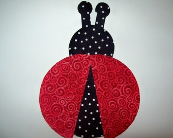 Fabric Applique TEMPLATE ONLY Ladybug