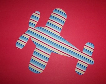 Fabric Applique TEMPLATE ONLY Airplane