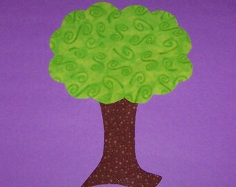 Fabric Applique TEMPLATE ONLY Tree.....New
