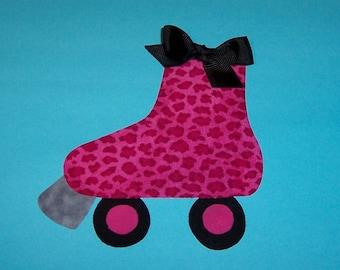 Fabric Applique TEMPLATE ONLY Roller Skate Rollerskate