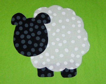 Fabric Applique TEMPLATE Pattern ONLY Sheep....NEW