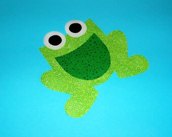Applique PDF TEMPLATE Pattern ONLY Chubby Frog....New