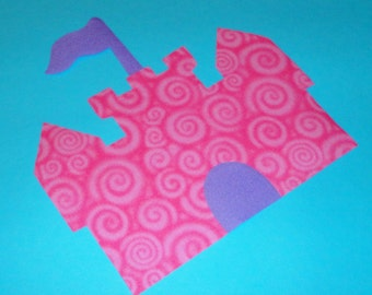 Applique TEMPLATE Pattern ONLY Princess Castle....New