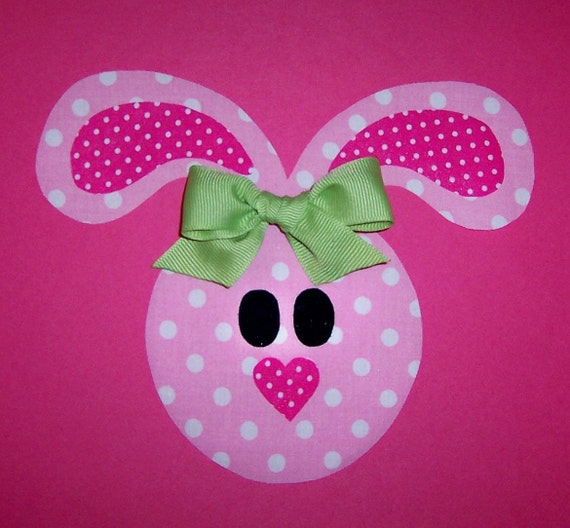 Applique PDF TEMPLATE Pattern Only Floppy Ear Easter Bunny.....New