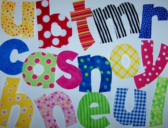 alphabet letters pattern 15 fabric applique pdf pdf applique patterns only small 2 to 3 inch playful font 247