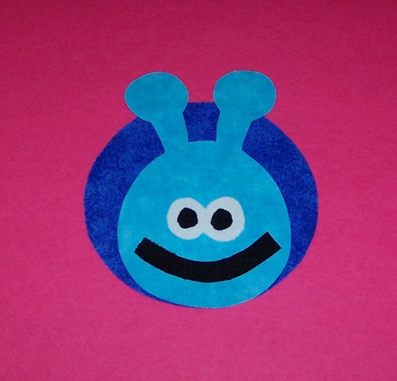 Fabric Applique TEMPLATE Pattern Only BUG.....NEW