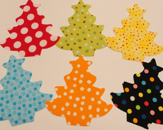 Fabric Applique TEMPLATE Pattern ONLY Christmas Tree With Star