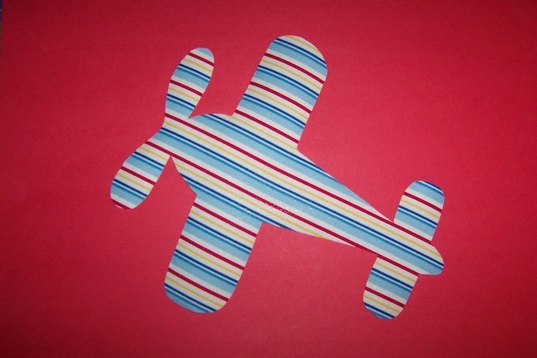 Vintage planes fabric appliques