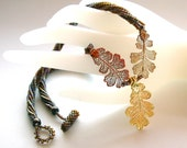 Falling Leaves of Autumn Necklace