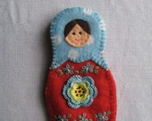 Matroyshka needle book