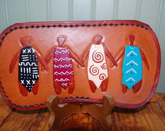 Eyeglass Case with Sisters