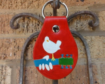 Key fob with Woodstock Icon