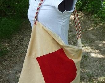 SALE, Large Tote Bag, Large Shoulder Bag, Handmade Bag, Large Purse, Recycled Fabrics, Unique,Zipper Top, Rope Strap,Hippie Boho,Soft Fabric