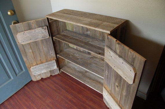 Like this item? - Reclaimed Wood Cabinet LARGE Wooden Pantry Wooden Cabinet