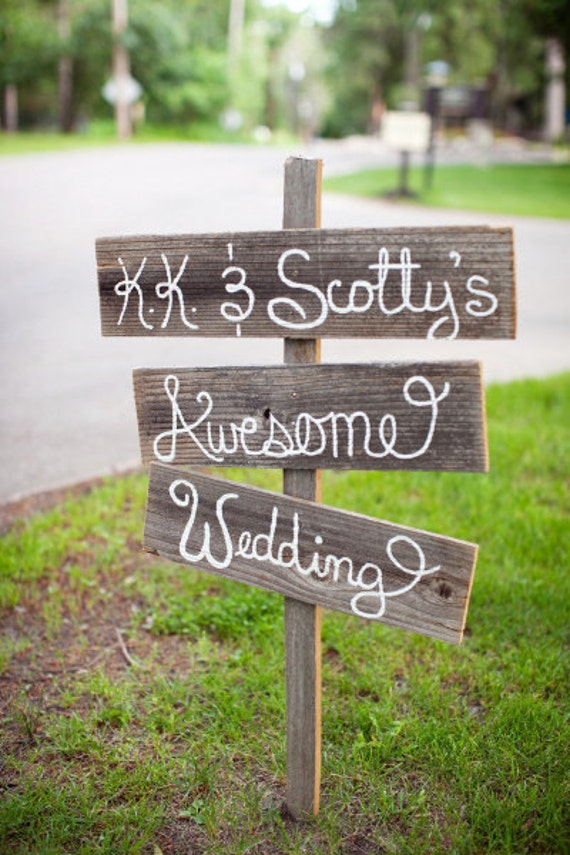 Cowgirl Rustic Wedding Sign Country Wedding Outdoors Hand Painted Wood. Directional Arrow Wooden Sign Reception Signs. Outdoor Wedding Decor