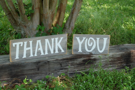Thank you Sign for Wedding Photos and Thank You Card Photo Rustic Wedding Sign, Recycled wood Wedding Signs.