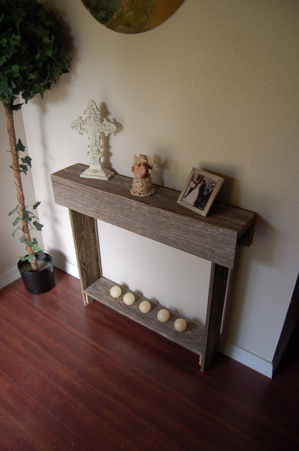 Entry Console Table Console Table Farmhouse Furniture Reclaimed Wood Table