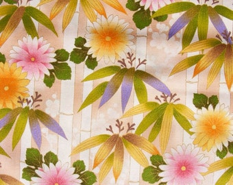 HALF YARD Kona Bay quilt cotton yardage Bamboo Grove in cream