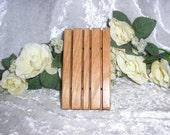 Solid Oak Soap Dish - Keeps Soaps High and Dry