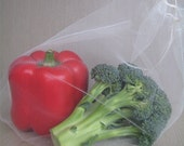 Reusable Produce Bags - Set of 3 Recycled (M, L, XL)