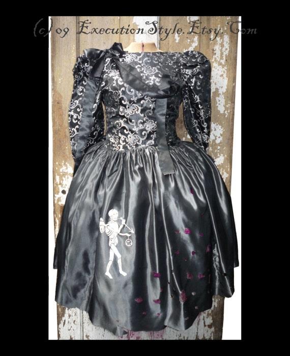 Gunmetal Victorian Style Haunting Dress