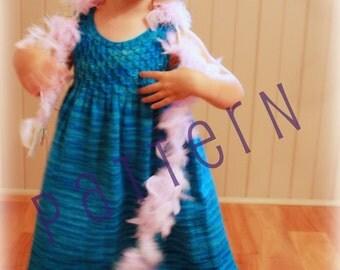 Charlotte Dress Knitting (pdf knitting pattern)