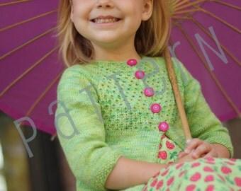 Guacamole Sweater (pdf knitting pattern)
