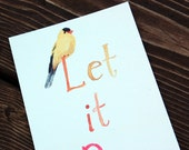 Let It Be -- Set of Four Postcards