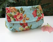 5 Bridesmaid Clutches Gift Set - Custom Choose Your Fabric