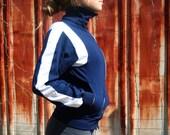 Vintage Blue Tennis Jacket