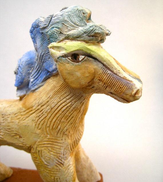 Horse, Ceramic Horse Art, Horse, Energy Being