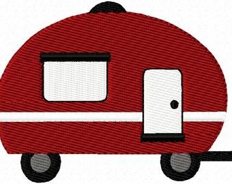 Camping Set 1 Embroidery Machine Design Patterns Digital Download